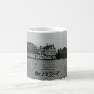 Towboat LJ van de Rivier van Illinois Mok Sullivan
