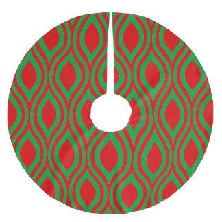 Traan Geometrisch door Cheryl Daniels Kerstboom Rok
