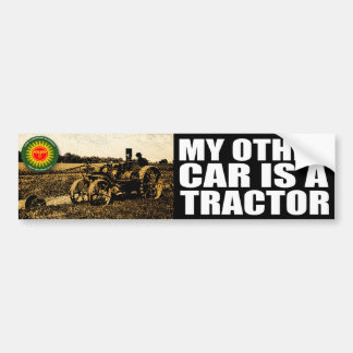 tractor bumpersticker