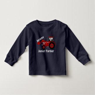 """Tractor Ondergeschikte Lader van de Landbouwer"""" en Kinder Shirts"""