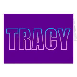 Tracy Wenskaart
