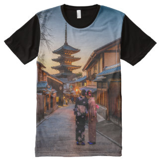 Traditioneel Japan All-Over-Print T-shirt