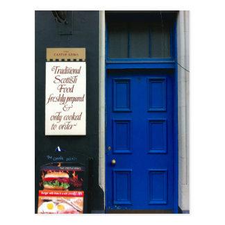 Traditioneel Schots Voedsel Briefkaart