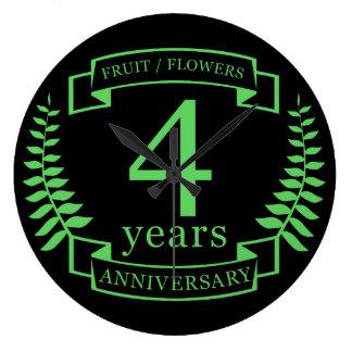 Traditionele het huwelijksverjaardag van de V.S. 4 Grote Klok