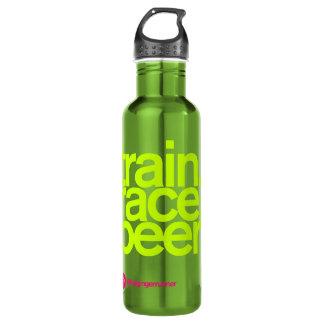 TRAIN.RACE.BEER. Waterbottle Waterfles