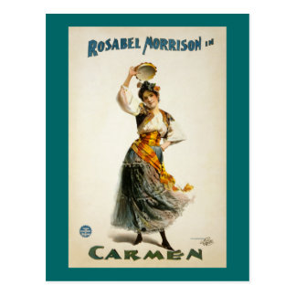 Trambestuurders, Opera 1896 Briefkaart