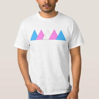 Trans het T-shirt van de Driehoek van de Trots