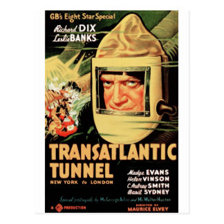 Transatlantische Tunnel Briefkaart
