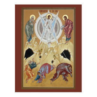 Transfiguratie van Lord Prayer Card Briefkaart