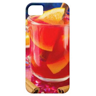 Transparante mok met citrusvrucht overwogen wijn barely there iPhone 5 hoesje