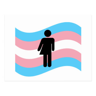 Transsexueel Briefkaart