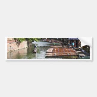 Trappen in Cambridge, Engeland Bumpersticker
