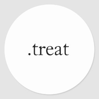 .treat sticker