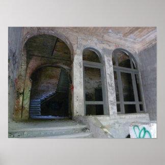 Treden 01.0 ruïne, Verloren Plaatsen, Beelitz Poster