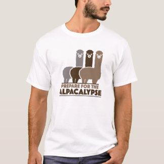 Tref voor Alpacalypse voorbereidingen T Shirt