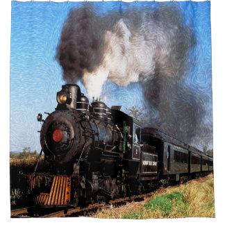 Trein 2 douchegordijn