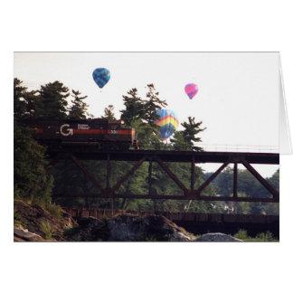Trein & Ballons Kaart