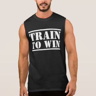 Trein om het Overhemd van de Spier te winnen T Shirt