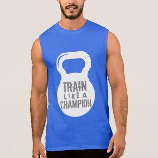 Trein zoals een Training van de Gymnastiek van de T Shirt