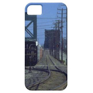 Treinen en sporen - Krommingen en brug Barely There iPhone 5 Hoesje