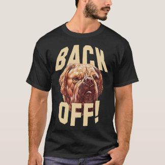 Trek de T-shirt van de Hond terug