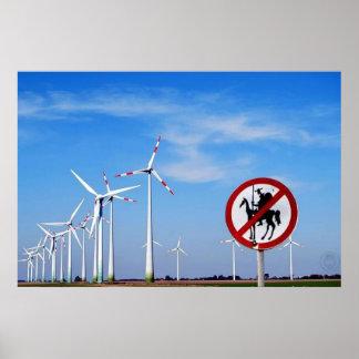 Trek Don Quichot aan Poster