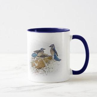 Trek me - de Blauwe Vogels van de Vlaamse gaai Mok