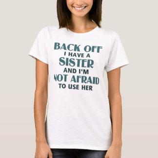 Trek me ik hebben een (blauwe) Zuster terug T Shirt