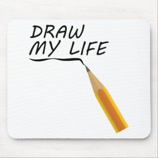 Trek mijn leven muismat