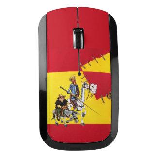 TREK QUIJOTE&SANCHO aan - de Spaans-Vlag van de Draadloze Muis