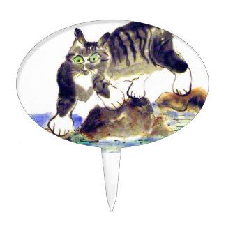 Trek van de gestreepte kat - het Avontuur van het Taart Prikkers