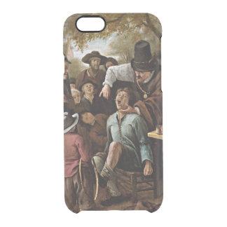 Trekker van de Tand, 1651 die schilderen Doorzichtig iPhone 6/6S Hoesje
