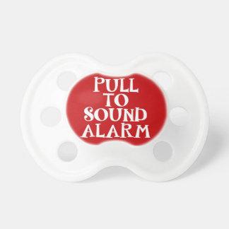 Trekkracht aan Correct Alarm | Rood Baby Speentje