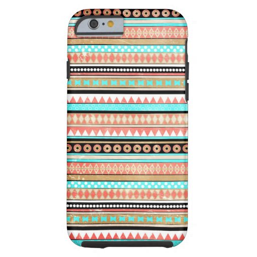 Trendy aztec tough iPhone 6 hoesje