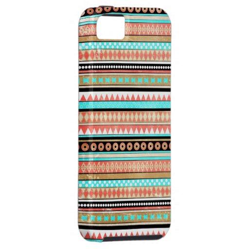Trendy aztec Case-Mate iPhone 5 hoesjes