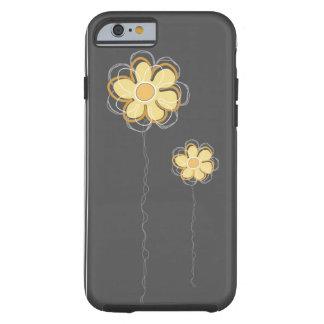 Trendy BloemeniPhone 6 van het Decor Tough iPhone 6 Hoesje