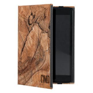 Trendy Bruin Houten Naadloos Patroon iPad Mini Hoesje