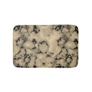 Trendy bruine marmeren ontwerp van de steentextuur badmat