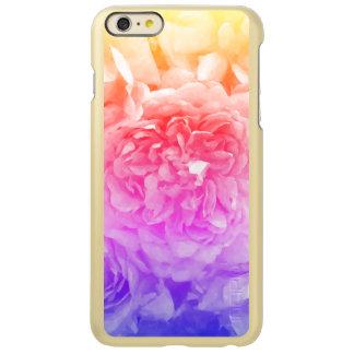 Trendy Geel, Roze, Paars nam toe Incipio Feather® Shine iPhone 6 Plus Hoesje