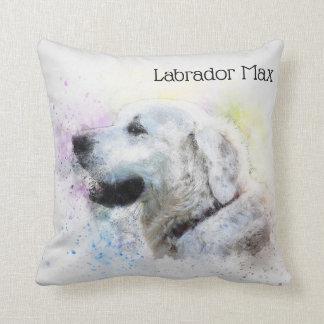 Trendy Gepersonaliseerde Labrador Sierkussen