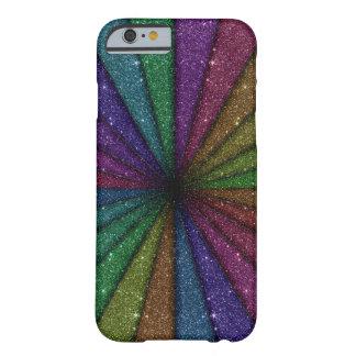 Trendy Kleurrijk schittert Explosie Barely There iPhone 6 Hoesje