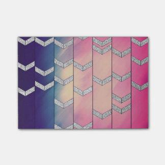 Trendy Kleurrijke Zigzag van de Pijl van de Post-it® Notes