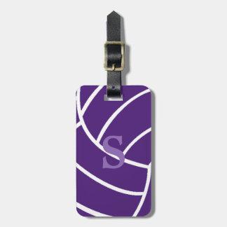 Trendy Label van de Bagage van het Volleyball van Kofferlabel