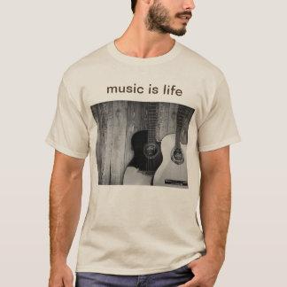 Trendy lichtgrijze de muziekt-shirt van het mannen t shirt