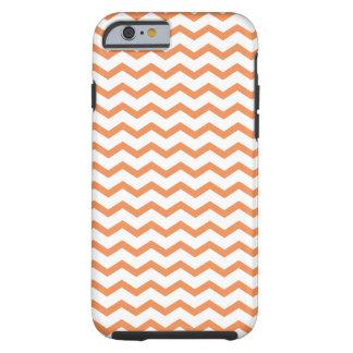 Trendy Oranje Chevron Pattern.ai Tough iPhone 6 Hoesje