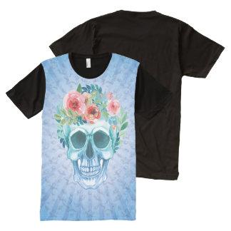Trendy Overhemd van de Pret van de Schedel All-Over-Print T-shirt