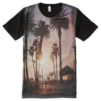 Trendy Overhemd van de Pret van het Strand van All-Over-Print T-shirt
