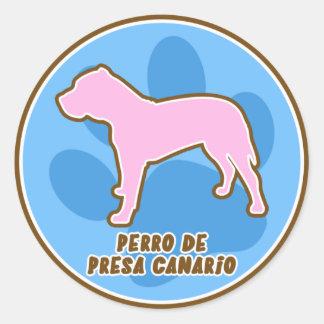Trendy Perro DE Presa Canario Stickers