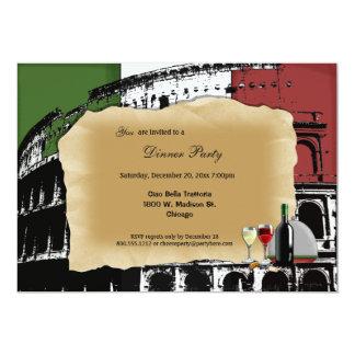 Trendy Roman Partij van het Diner Coliseum nodigt Kaart