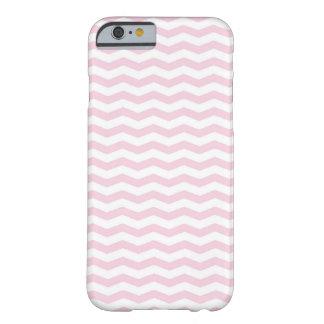 Trendy Roze hoesje van de Telefoon van de Chevron Barely There iPhone 6 Hoesje